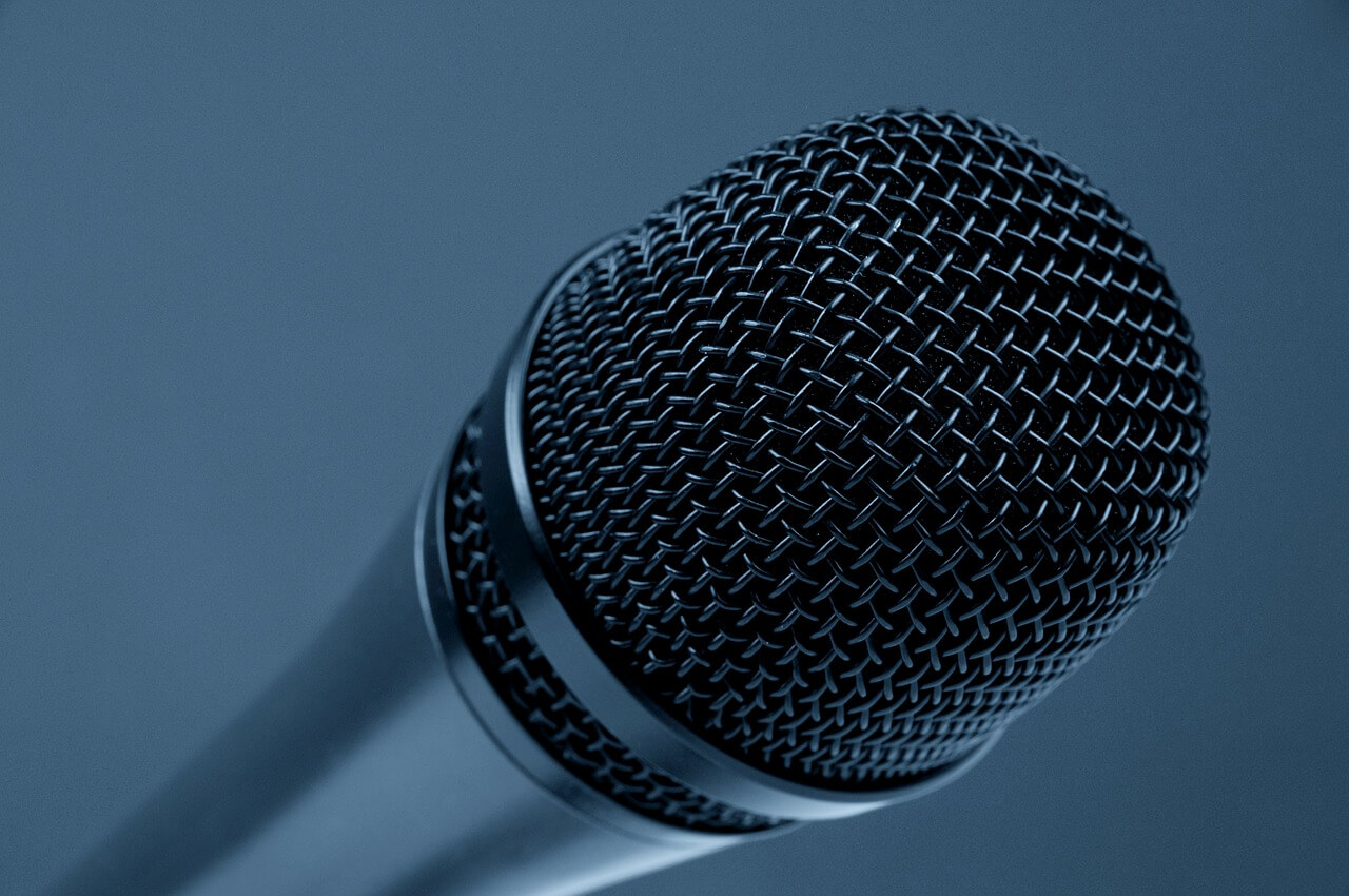 microphone, music, stage