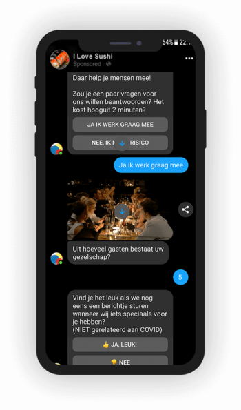 chat marketing in messenger